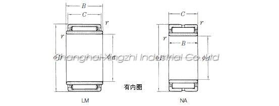 NSK LM1212 Bearing_Shanghai Xingzhi Industrial Co ,Ltd